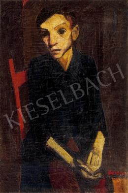 Barcsay, Jenő - Young man