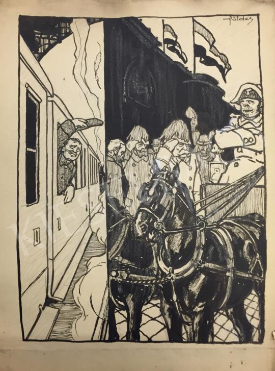 Eladó Földes Imre - Távozás festménye