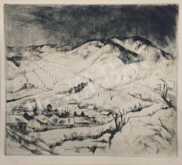 Szőnyi, István - Winter Landscape