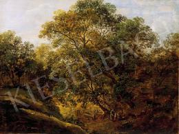 Molnár, József - Forest landscape with figures