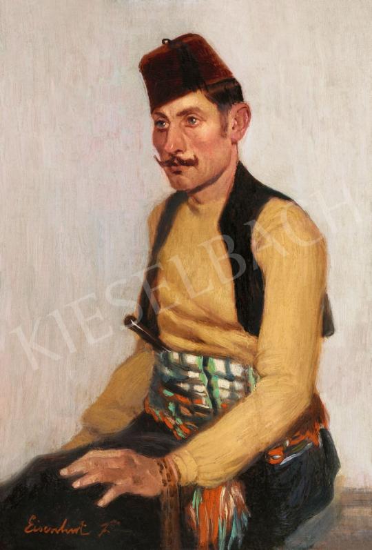Eisenhut Ferenc - Török férfi | 56. Őszi Aukció aukció / 22 tétel