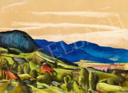 Jándi, Dávid - Nagybánya Landscape