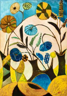 Balázs János - Égre rajzolódó virágok
