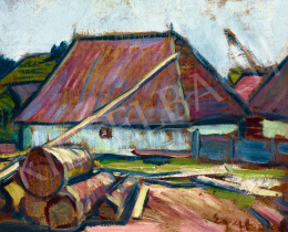 Egry, József - House in Trassylvania, early 1910s