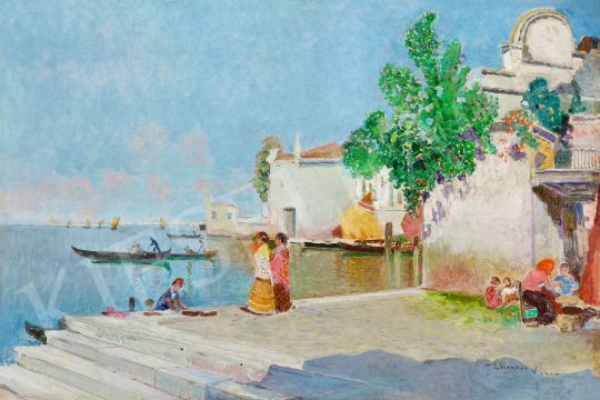 Herrer Cézár - Velence, 1906 | 56. Őszi Aukció aukció / 60 tétel