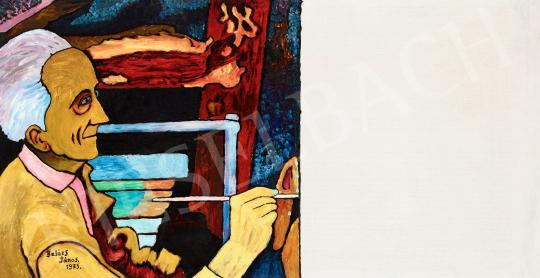 Balázs János - Kezdet (Az első ecsetvonás), 1975 | 56. Őszi Aukció aukció / 71 tétel