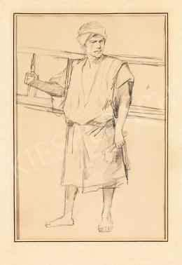 Munkácsy Mihály - Vázlat a Golgotához, 1884