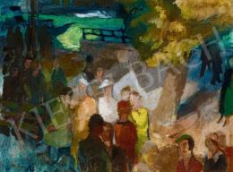Szőnyi István - Duna-parti korzó, 1930
