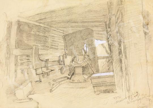 Mednyánszky László - 19 rajz - Műhely | 56. Őszi Aukció aukció / 192 tétel
