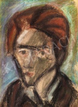 Bálint Endre - Önarckép, 1947 körül