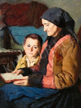 Glatz, Oszkár - Reading Fairy-Tale, 1942