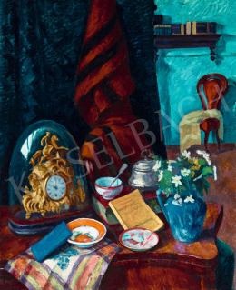 Ziffer Sándor - Műtermi csendélet, 1912