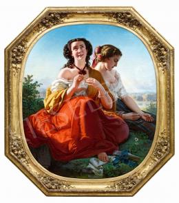 Borsos József - Szeret-nem szeret (Virágjóslás), 1856