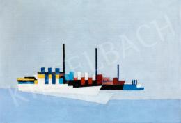 Maatsch, Thilo - Konstruktivista kompozíció (Hajók), 1927