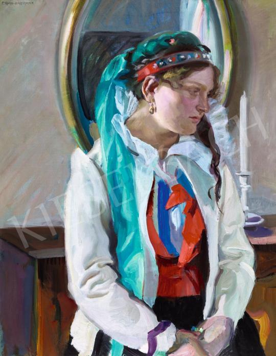 Grom-Rottmayer, Hermann - Fiatal lány szobában | 56. Őszi Aukció aukció / 50 tétel