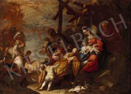 Olasz festő 1700 körül - Három királyok
