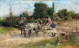 Kubányi Lajos - A találkozás, 1899