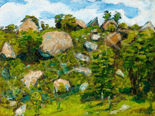 Nagy István - Napfényes domboldal, 1910-es évek | 56. Őszi Aukció aukció / 133 tétel