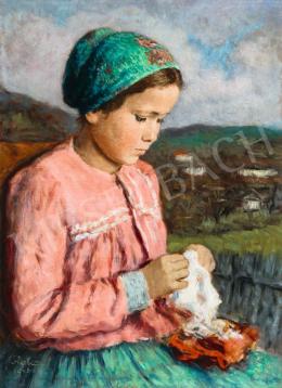 Glatz, Oszkár - Girl from Buják
