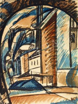 Uitz, Béla - Factory, 1919