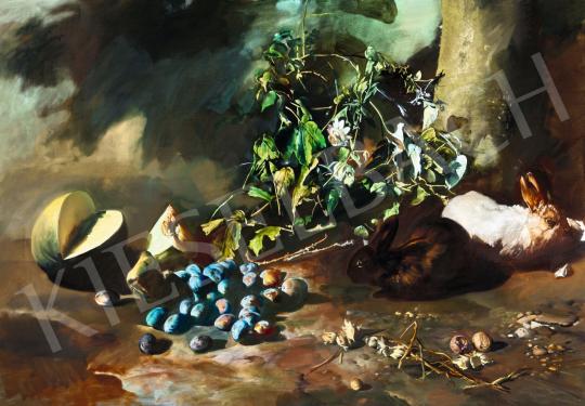 Csernus Tibor - Nagy őszi csendélet, 1983 | 56. Őszi Aukció aukció / 166 tétel
