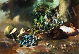 Csernus Tibor - Nagy őszi csendélet, 1983