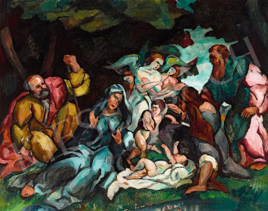 Perlrott Csaba Vilmos - A Szent Család, 1910 | 56. Őszi Aukció aukció / 180 tétel