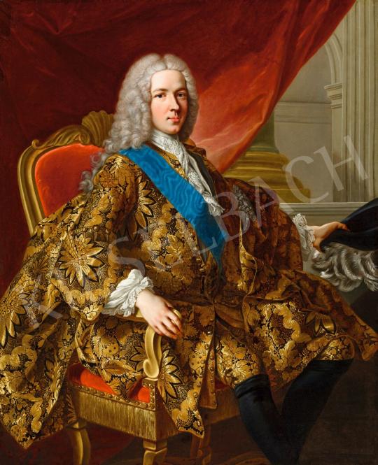 Louis-Michel van Loo-nak (1707-1771) tulajdonítva - Spanyol főnemes portréja, 18. század | 56. Őszi Aukció aukció / 195 tétel