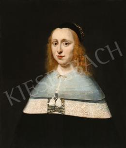 Németalföldi festő, Cornelis Janssens van Ceulennek (1593-1661) tulajdonítva - Női portré, 17. század