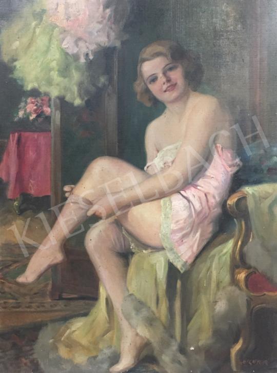 Eladó Geiger Richárd - Fiatal lány, 1931 festménye