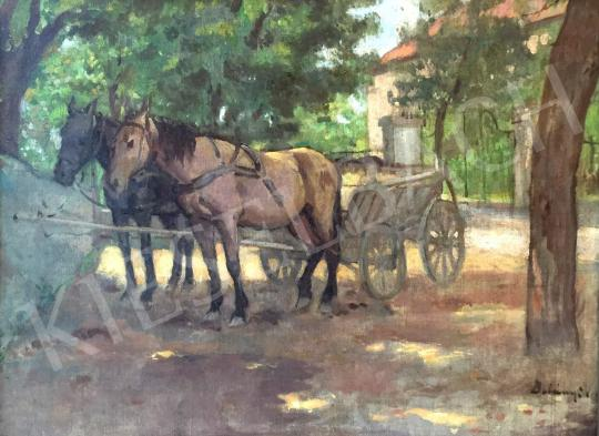 For sale Belányi, Viktor - Carriage 's painting