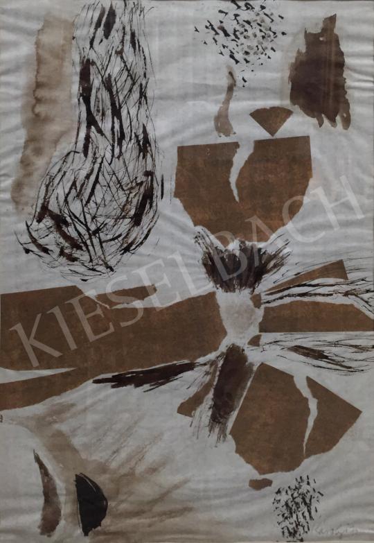 Eladó  Károlyi Ernő - Keki-barna festménye