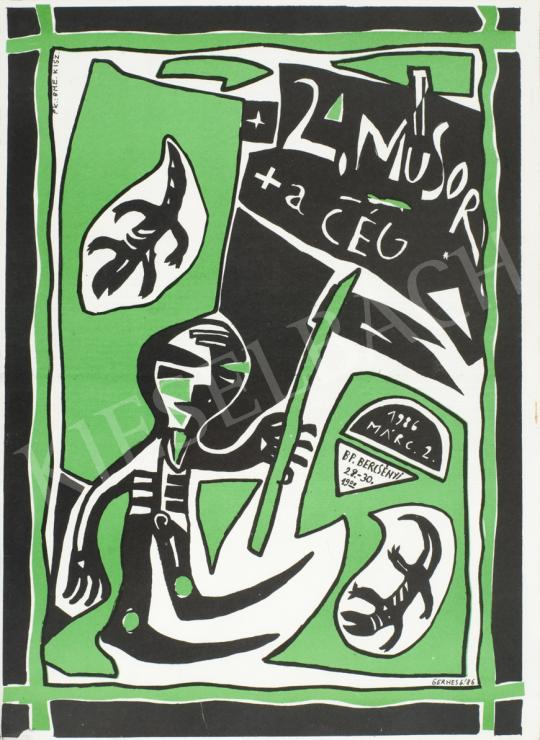 Gerhes Gábor - 2. Műsor, A Cég, 1986 festménye