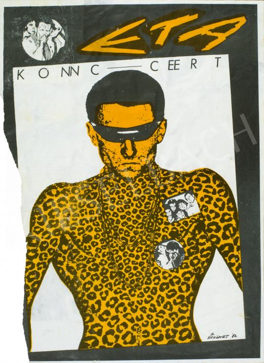 Soós György - ETA, 1982 festménye