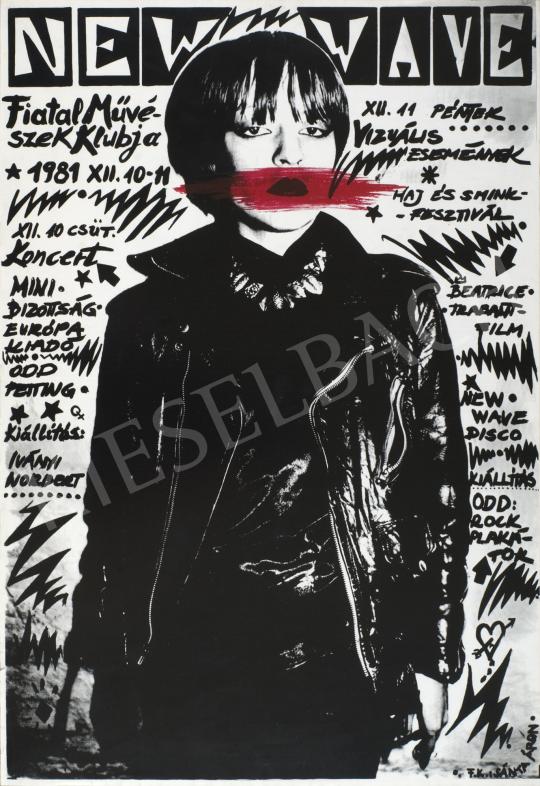 Soós György - New Wave FMK, 1981 festménye