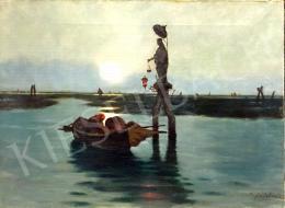 Frantisek Antonín Jelínek - Velencei lagúna