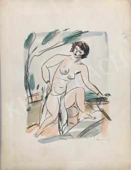 Márffy, Ödön - Female Nude