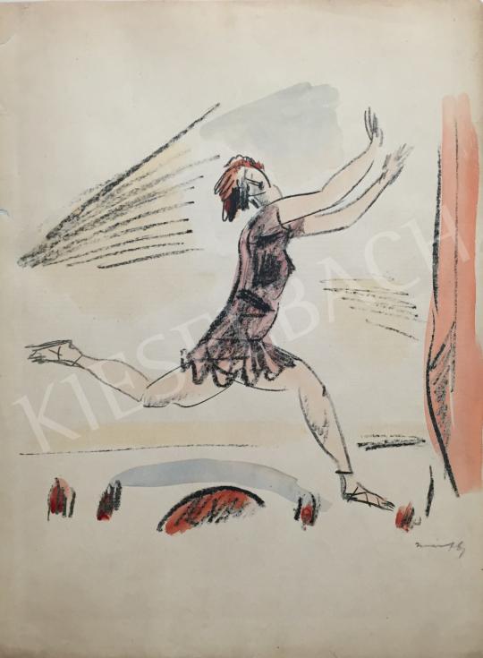 Eladó  Márffy Ödön - Női alak mozgásban festménye