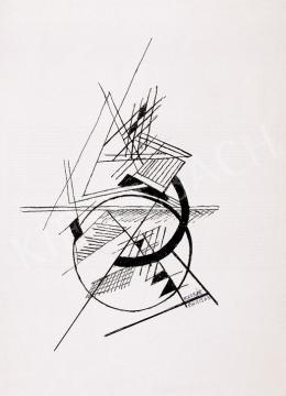 Kassák Lajos - Kompozíció | 7. Aukció aukció / 244 tétel