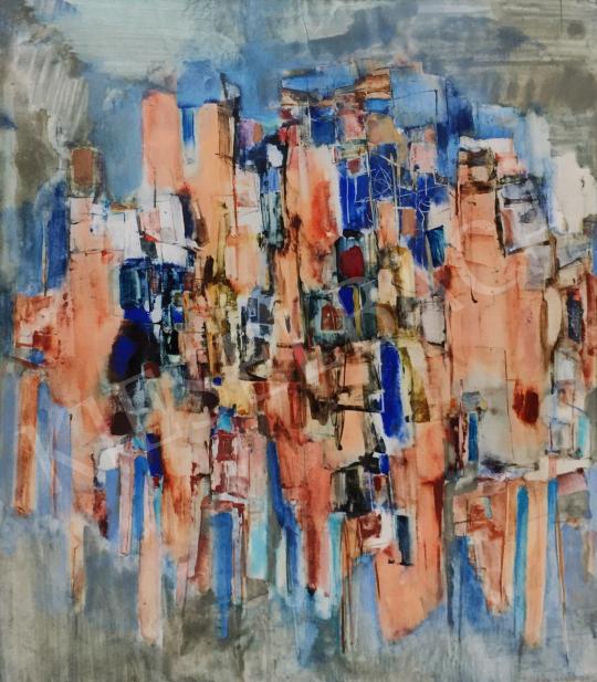 Eladó Bartha László - Kompozíció, 1971 festménye