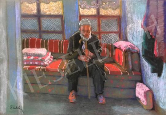 Pechán József - Szobában festménye