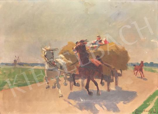 For sale Zombory, Lajos - Carriage 's painting