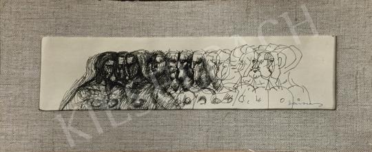 Eladó  Barcsay Jenő - Utolsó vacsora festménye