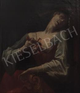 Ismeretlen művész - Lukrécia halála