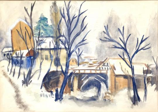 For sale  Szabó F. Mária - Winter Landscape 's painting