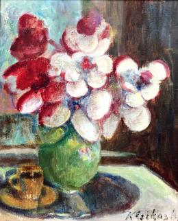 Krizsánné Csikós, Antónia - Flower Still-Life