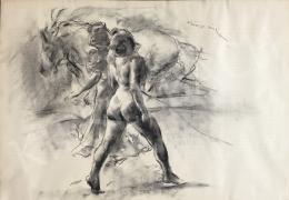 Fried Pál - Meztelen női aktok lóval