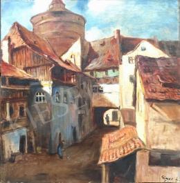 Gimes, Lajos - Street Scene