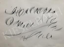 Nádler, István - Calligraphy, 1982