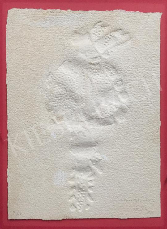 Eladó Hajdu István - Párizs, (Szerelem nyomai a homokban) festménye